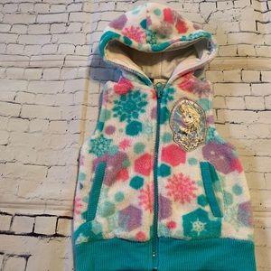 Disney Fleece Vest - Size 2T